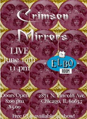 DREAMDAZE performs with Crimson Mirrors at the Elbo Room